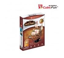 3D puzzle lodě Santa Maria - obal
