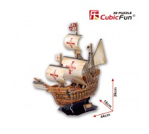 3D puzzle lodě Santa Maria od CubicFun