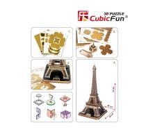 3D puzzle Eiffelova věž - díly