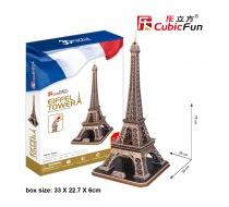 3D puzzle Eiffelova věž - obal