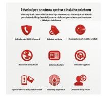 mobily vhodné pro děti - 9 funkcí
